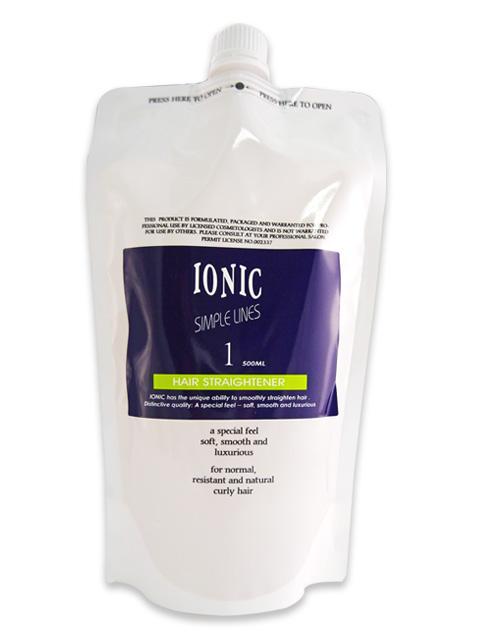 IONIC 艾爾妮可離子燙-超捲1劑