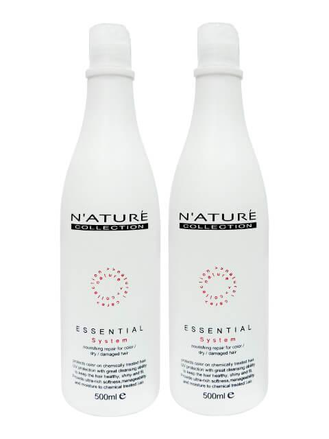 N'ATURE水質感洗髮精-玫瑰.茶樹.薰衣草.尤加利2瓶組 500ml