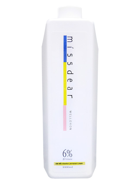 Missdear 染髮膏中和乳-(6%.9%.12%)