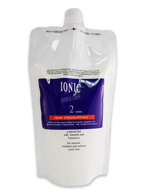 IONIC 艾爾妮可離子燙-超捲2劑