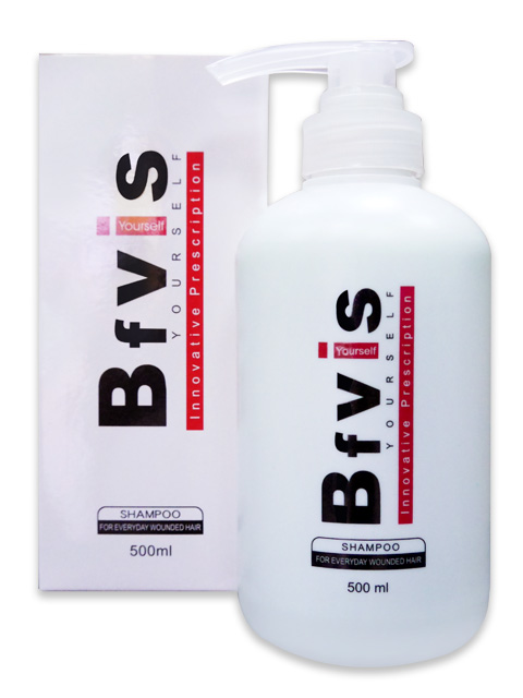 Bfvis 無屑可擊洗髮精