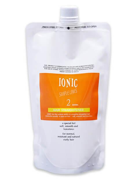 IONIC 艾爾妮可輕鬆燙-超捲2劑
