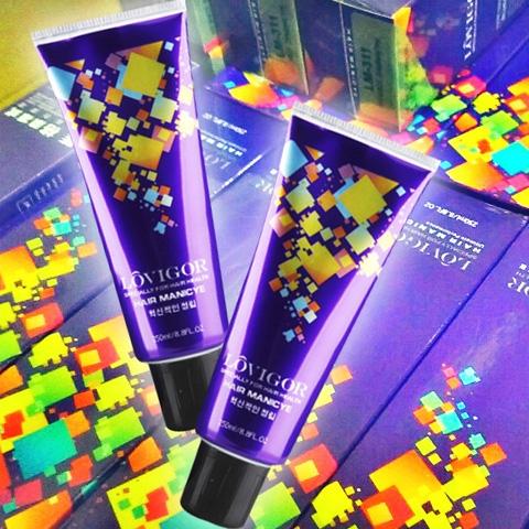 炫彩馬卡龍色調-藍格果凍式酸性彩護